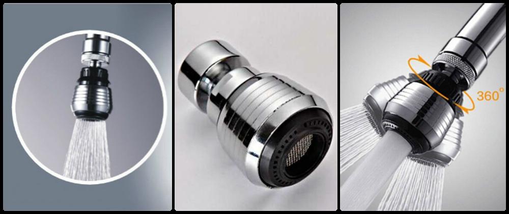 Водосберегающая насадка на кран Water Saver (Аэратор для смесителя)
