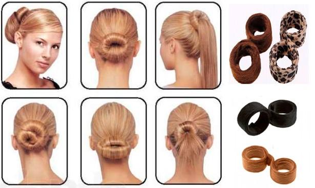 Заколки для волос Hairagami Bun Tail (2шт.)