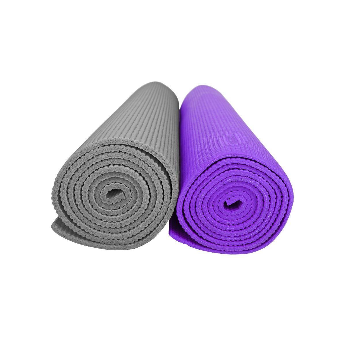 Гимнастический коврик для занятий йогой и фитнесом YOGA MAT