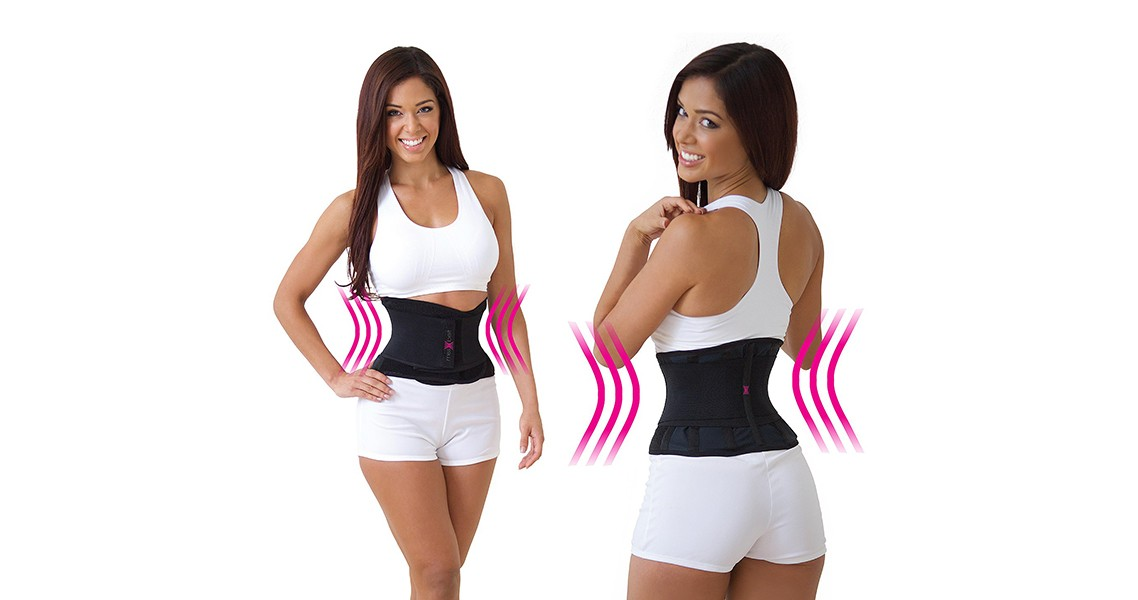 Корректирующий утягивающий пояс для похудения Miss Belt