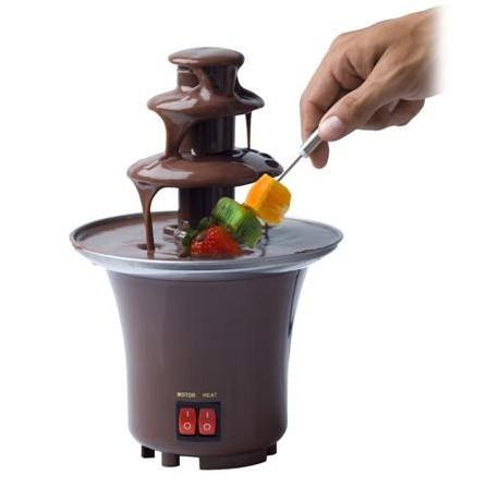 Шоколадный фонтан фондю мини