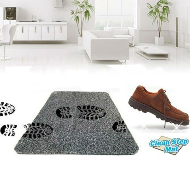 """Супервпитывающий придверный коврик """"Ни следа"""" Clean Step Mat"""
