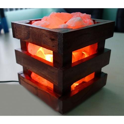 Соляная лампа Wood