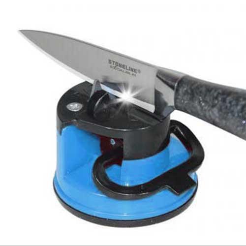 Вакуумная ножеточка на присоске (с вакуумным креплением) Knife Sharpener