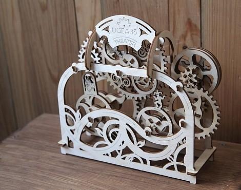 Деревянный конструктор (3D пазл) UGEARS - Театр
