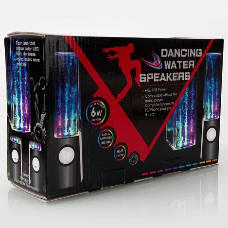 "Колонки ""Танцующие фонтаны"" Water Dancing Speakers"