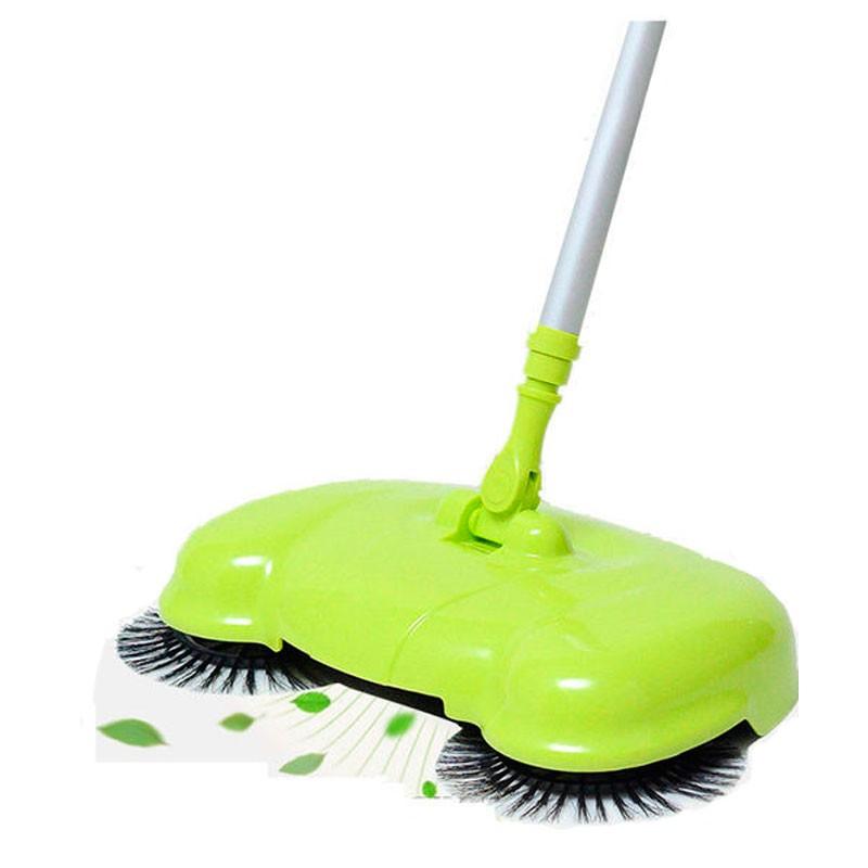 Автоматический веник Magic Sweeper, зеленый