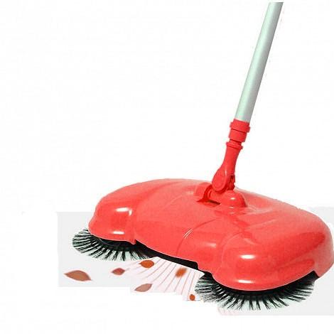 Автоматический веник Magic Sweeper, красный