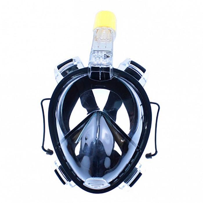 Маска для снорклинга Tribord EasyBreath (черная, размер L-XL)