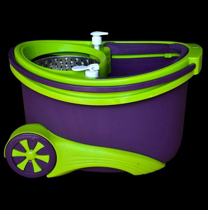 Набор для уборки Турбо (швабра + ведро с педальным отжимом ...