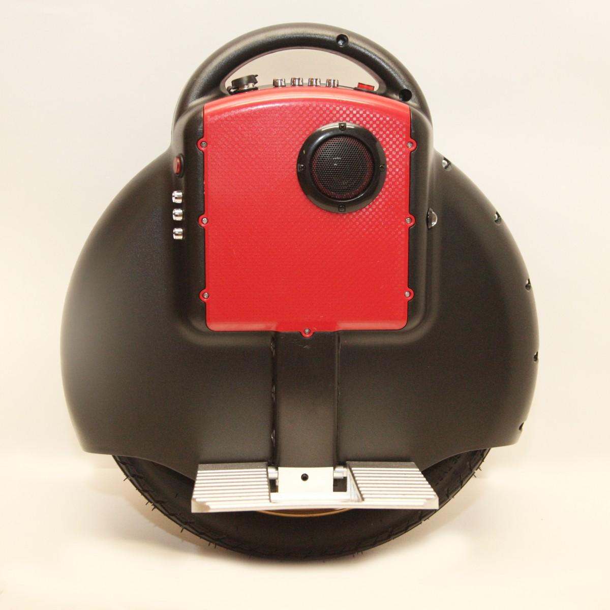 "Гироскутер моноколесо  Electric Unicycle S3 14"" Черное (Bluetooth, музыка)"