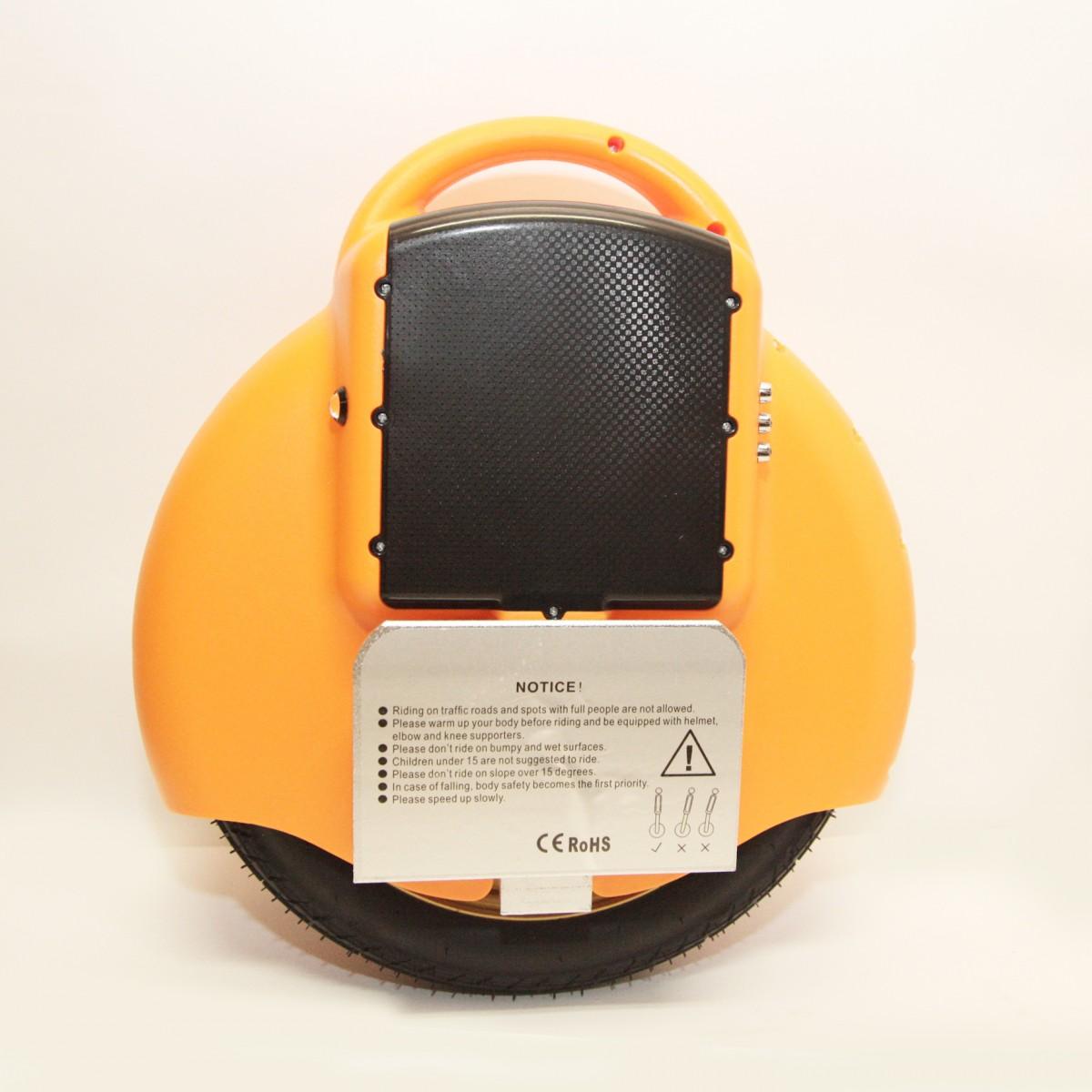 "Гироскутер моноколесо  Electric Unicycle S2 14"" Оранжевое"
