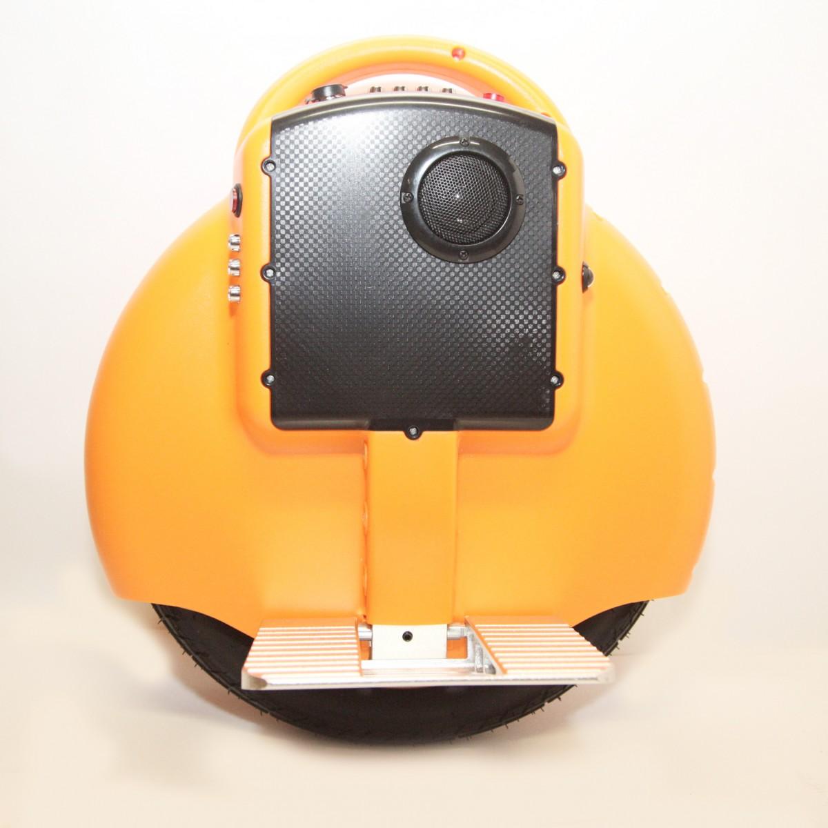 "Гироскутер моноколесо  Electric Unicycle S3 14"" Оранжевое (Bluetooth, музыка)"