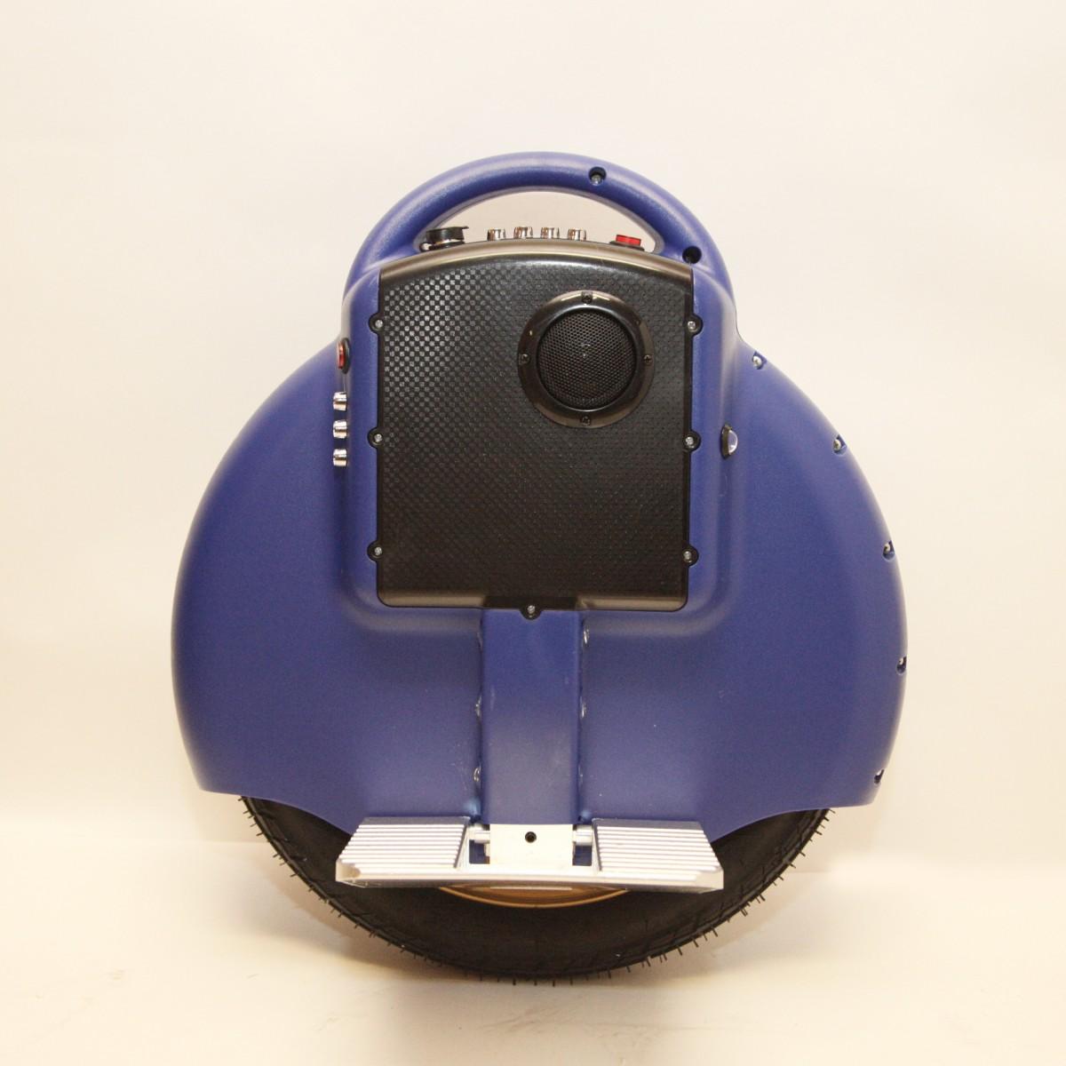 "Гироскутер моноколесо Electric Unicycle S3 14"" Синее (Bluetooth, музыка)"
