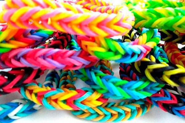 Набор резиночек Loom Bands (200 шт) розовый