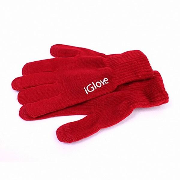 Перчатки для сенсорных экранов iGlove красные