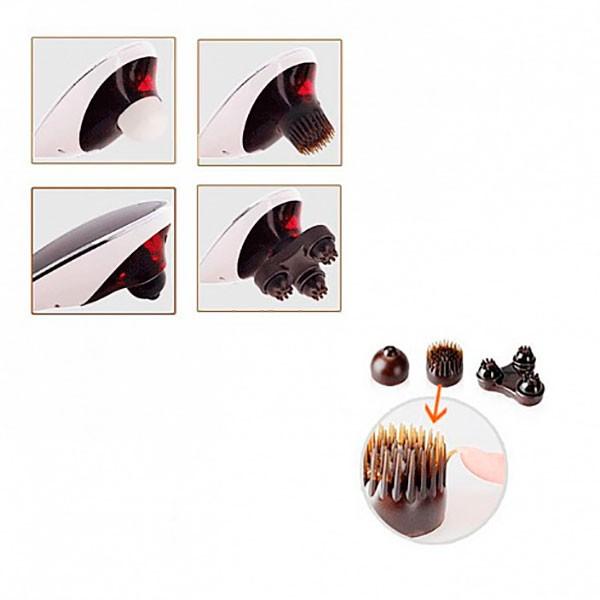 Массажер для тела Body Massager c ИК-прогревом (черный)