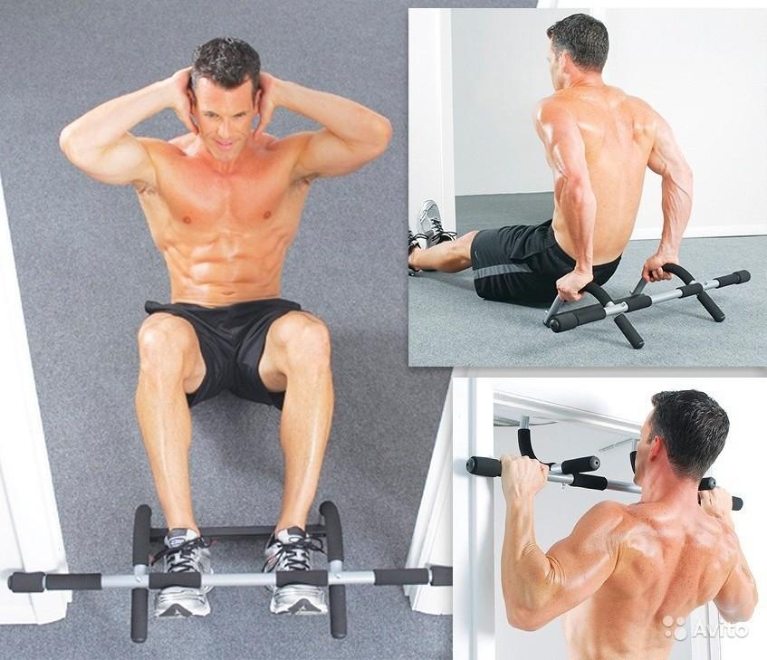 Турник Iron Gym (с ремнями)