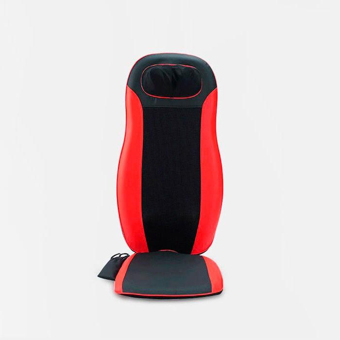 Вибромассажная накидка с роликами Neck&Back Massage Cushion FITSTUDIO красная