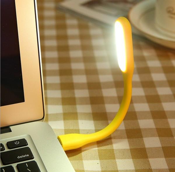 Лампа для ноутбука USB, желтая