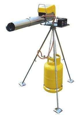 "Отпугиватель птиц гром-пушка электронная ""Zon EL08 Telescope"""