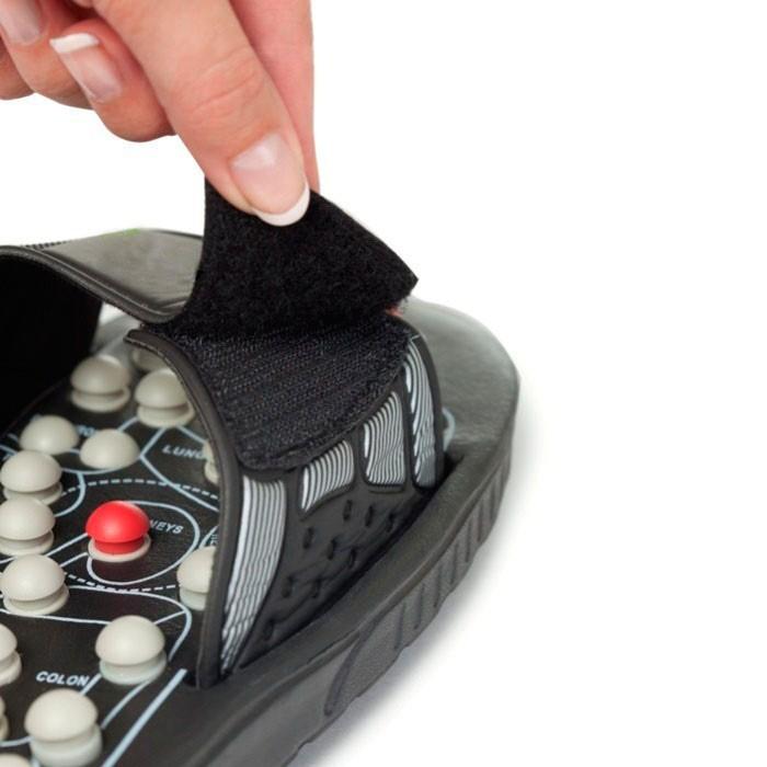 Тапочки рефлекторные для массажа Massage Slipper FITSTUDIO (размер 40-41, M)