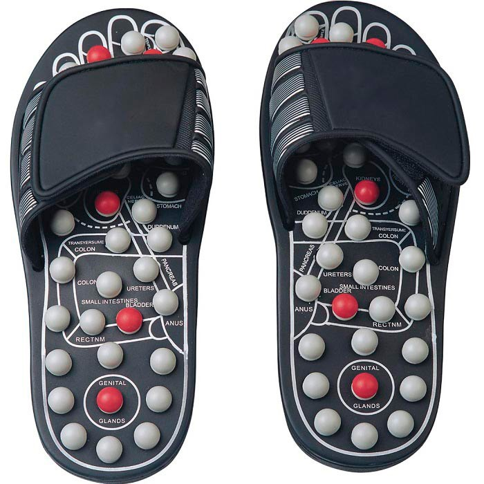 Тапочки рефлекторные для массажа Massage Slipper FITSTUDIO (размер 42-43, L)