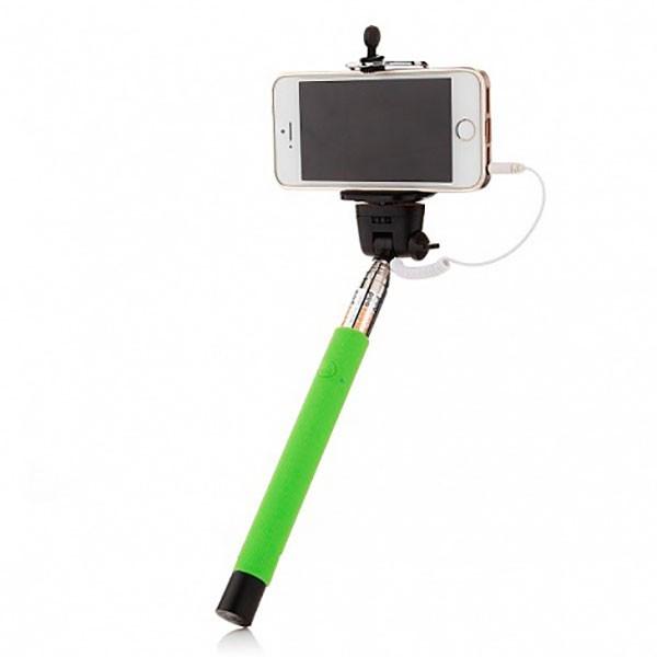 Монопод для селфи Z07-5 plus для Android (1м зеленый)