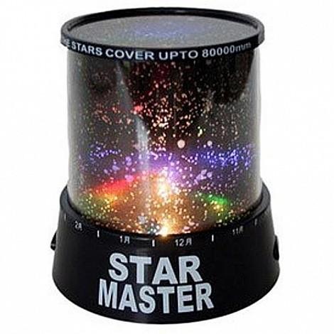 Ночник проектор звездного неба Star Master (с адаптером)