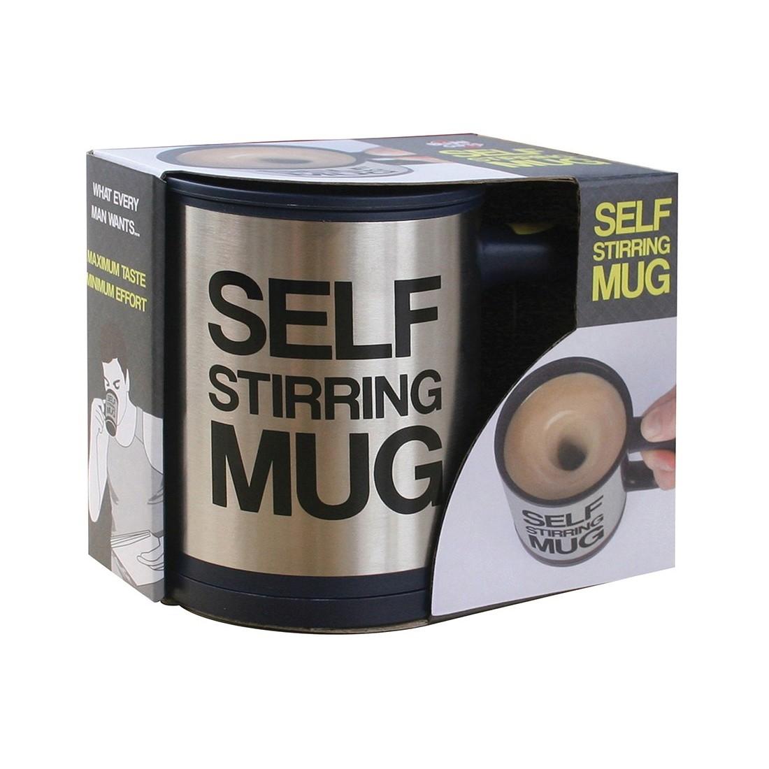 Кружка-мешалка Self Stirring Mug черная