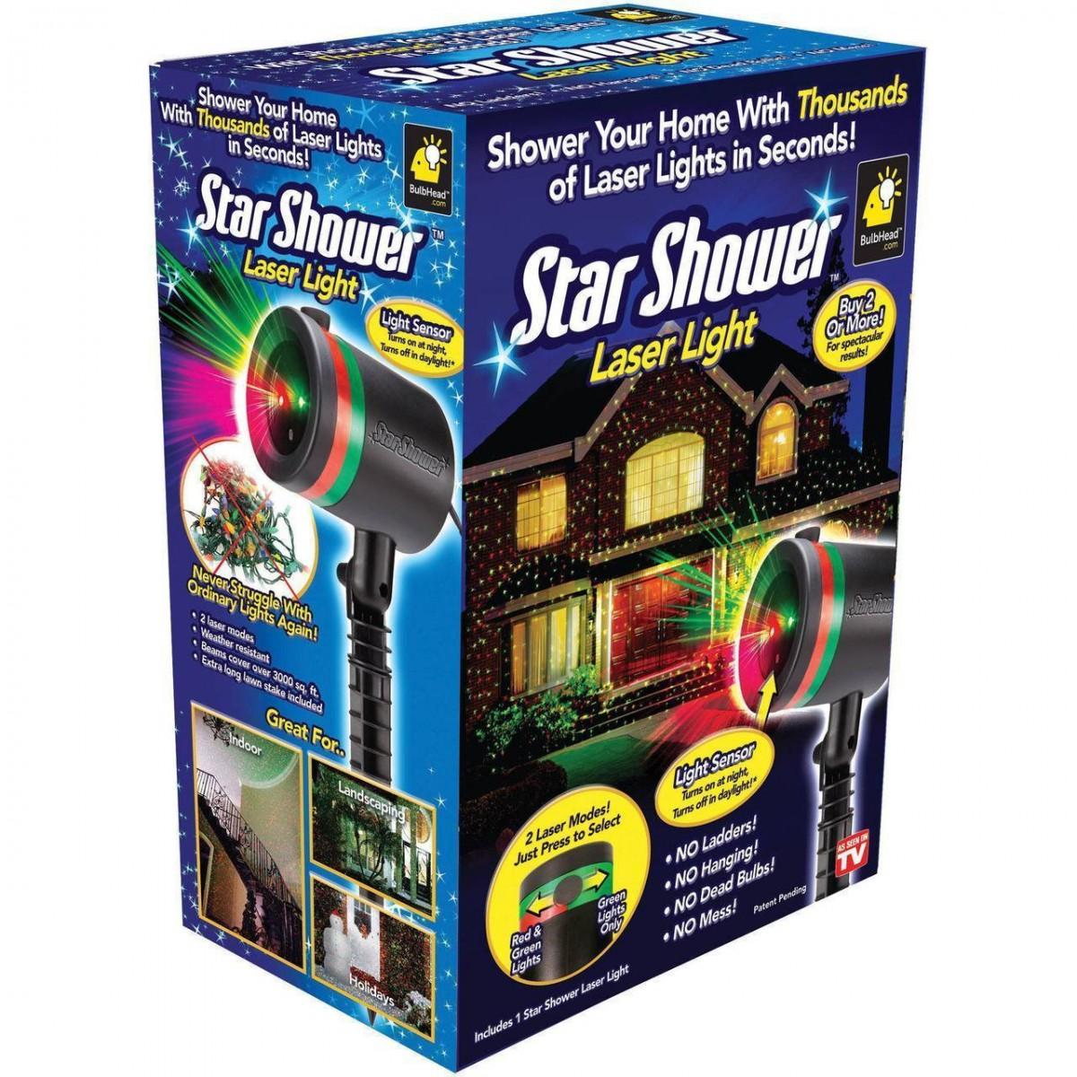 Лазерный проектор Laser Light ( звездный дождь)