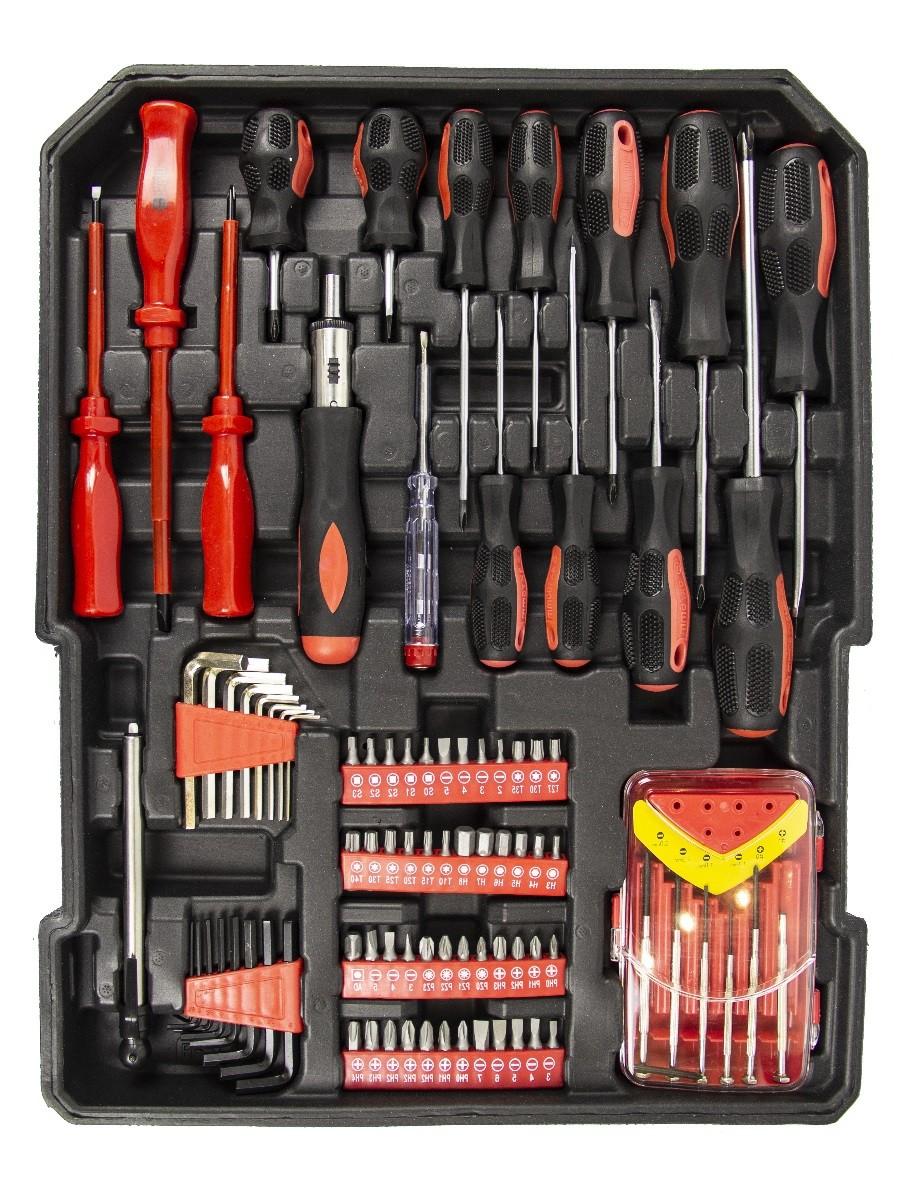 Набор инструментов 187 предметов Swiss Tools ST-1069